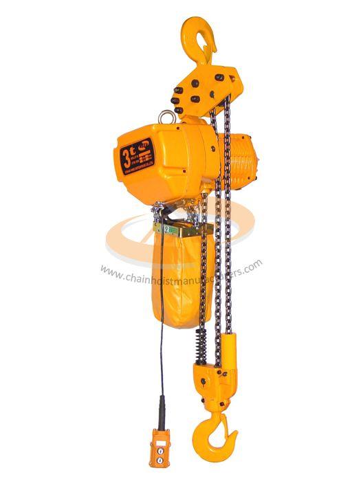 Palăng xích điện 3 tấn