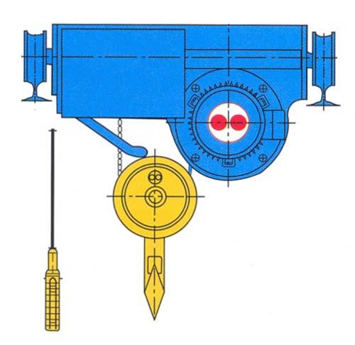Palăng dầm đôi dùng cho nhà xưởng bị giới hạn chiều cao